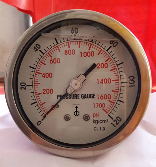 Differential Pressure Gauge In Guna